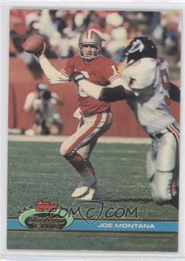 1991 Topps Stadium Club - [Base] #327 - Joe Montana