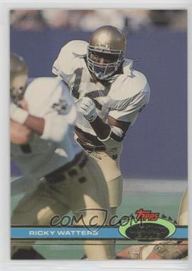 1991 Topps Stadium Club - [Base] #60 - Ricky Watters