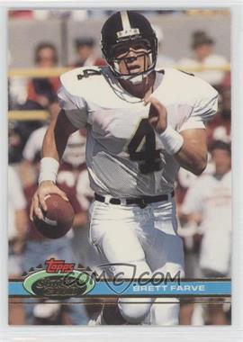 1991 Topps Stadium Club - [Base] #94 - Brett Favre