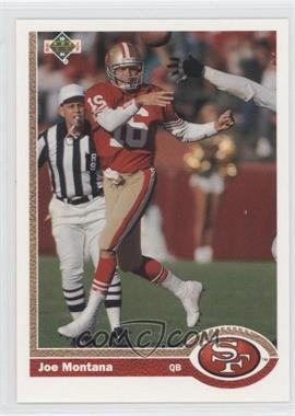 1991 Upper Deck - [Base] #1 - Joe Montana (Promo)