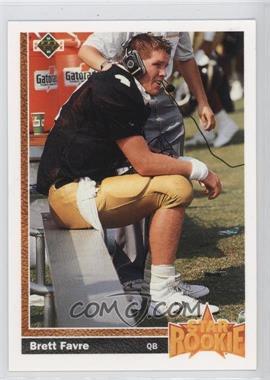 1991 Upper Deck - [Base] #13 - Brett Favre