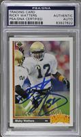 Ricky Watters [PSA/DNA Certified Auto]