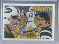 Joe Namath (Autograph) #/2,500