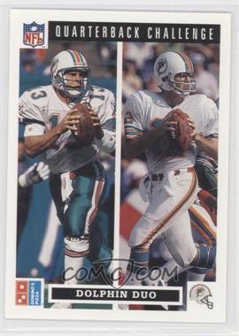 1991 Upper Deck Domino's Pizza Quarterback Challenge - [Base] #49 - Bob Griese, Dan Marino