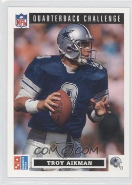 1991 Upper Deck Domino's Pizza Quarterback Challenge - [Base] #6 - Troy Aikman