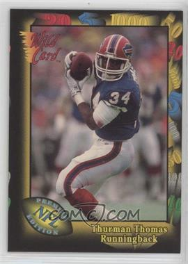 1991 Wild Card - Prototypes #Prototype-3 - Thurman Thomas