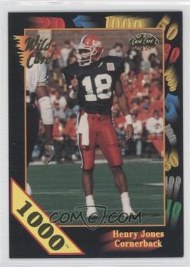 1991 Wild Card Draft - [Base] - 1000 Stripe #20 - Henry Jones