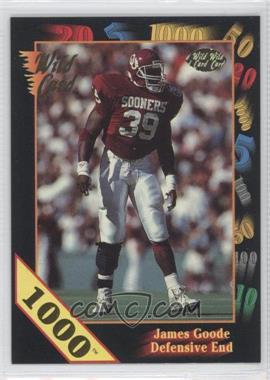 1991 Wild Card Draft - [Base] - 1000 Stripe #69 - James Goode