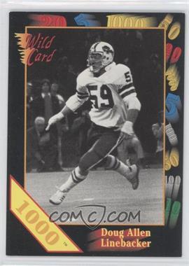 1991 Wild Card Draft - [Base] - 1000 Stripe #NoN - Doug Allen