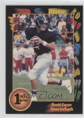 1991 Wild Card Draft - [Base] #119 - Brett Favre