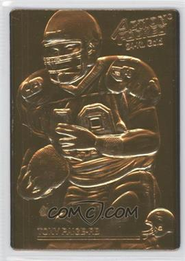 1992 Action Packed - [Base] - 24-Kt. Gold Mint #149 - Tony Paige /500