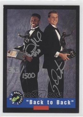 1992 Classic Draft Picks - Autographs #DHTD - Desmond Howard, Ty Detmer /1500