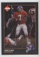 John Elway (Yellow Border, Blank Back)