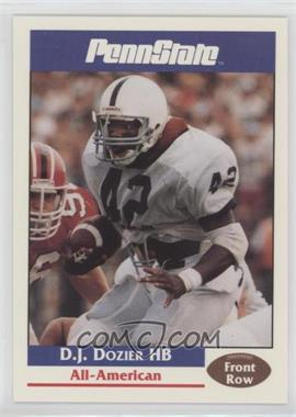 1992 Front Row Penn State Nittany Lions - [Base] #14 - D.J. Dozier