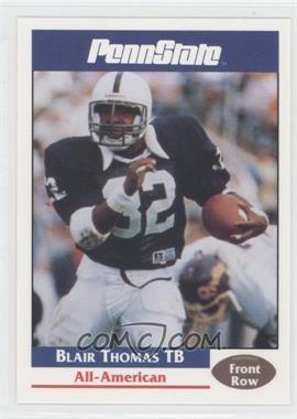 1992 Front Row Penn State Nittany Lions - [Base] #45 - Blair Thomas