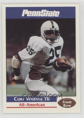 1992 Front Row Penn State Nittany Lions - [Base] #46 - Curt Warner