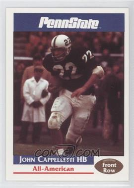 1992 Front Row Penn State Nittany Lions - [Base] #7 - John Cappelletti