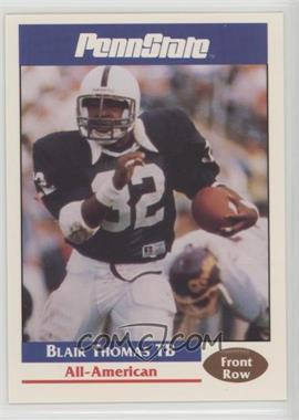 1992 Front Row Penn State Nittany Lions All-Americans - [Base] #45 - Blair Thomas