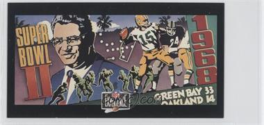 1992 NFL Experience - [Base] #3 - Vince Lombardi, Bart Starr