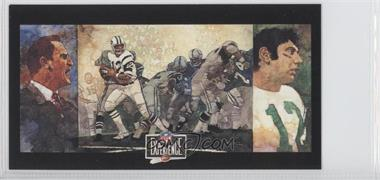 1992 NFL Experience - [Base] #4 - Don Shula, Joe Namath