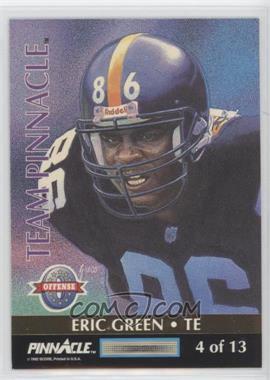1992 Pinnacle - Team Pinnacle #4 - Eric Green, Steve Atwater