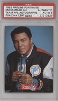 Muhammad Ali [PSA/DNACertifiedAuto]