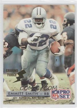 1992 Pro Set - [Base] - Ground Force #150 - Emmitt Smith