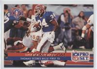 Super Bowl XXVI Replay - Thomas Scores Bills' First TD