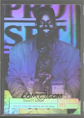 1992 Pro Set - Emmitt Smith Holograms #ES3 - Emmitt Smith