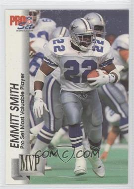 1992 Pro Set - Gold MVP's #MVP18 - Emmitt Smith