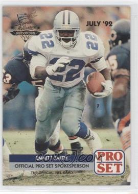 1992 Pro Set - National Convention Promos #PRO002 - Emmitt Smith