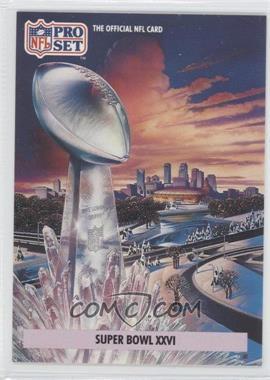 1992 Pro Set NFL Experience - [Base] #2 - Super Bowl XXVI