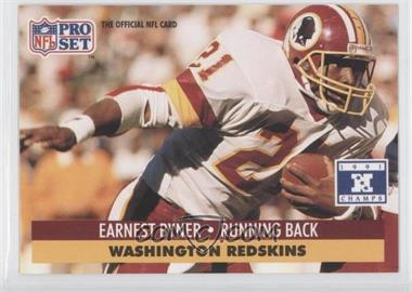 1992 Pro Set NFL Experience - [Base] #316 - Earnest Byner