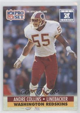 1992 Pro Set NFL Experience - [Base] #318 - Andre Collins
