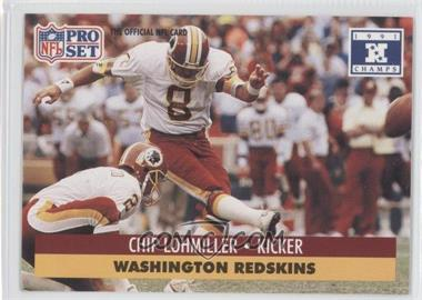 1992 Pro Set NFL Experience - [Base] #320 - Chip Lohmiller