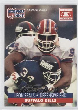 1992 Pro Set NFL Experience - [Base] #449 - Leon Seals