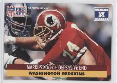 1992 Pro Set NFL Experience - [Base] #678 - Markus Koch