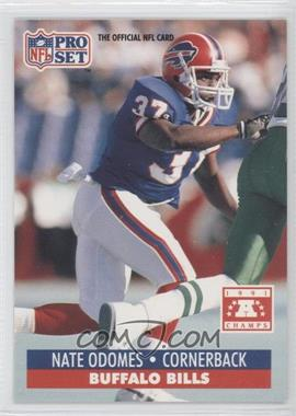 1992 Pro Set NFL Experience - [Base] #80 - Nate Odomes