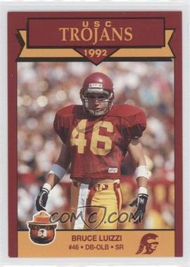 1992 Smokey Bear USC Trojans - [Base] #BRLU - Bruce Luizzi