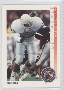 1992 Star Pics - [Base] - Autographs #85 - James Patton