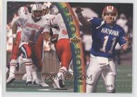 Warren Moon, Mark Rypien