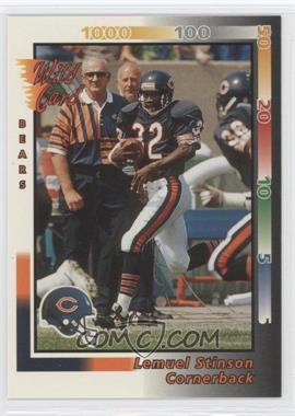 1992 Wild Card - [Base] #426 - Lemuel Stinson