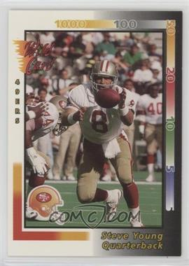 1992 Wild Card - [Base] #98 - Steve Young