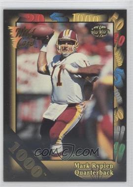 1992 Wild Card Super Bowl Card Show III - [Base] - 1000 Stripe #126 A - Mark Rypien