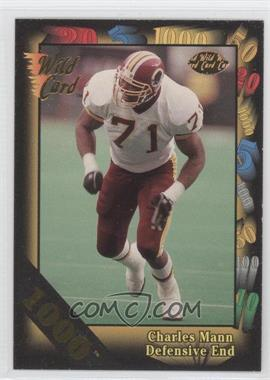 1992 Wild Card Super Bowl Card Show III - [Base] - 1000 Stripe #126 D - Charles Mann