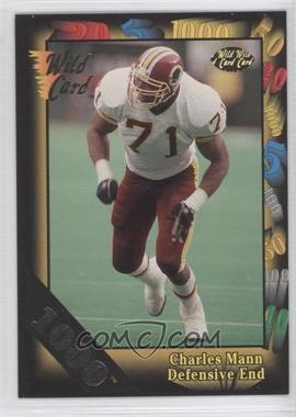 1992 Wild Card Super Bowl Card Show III - [Base] - 1000 Stripe #126 D - Charles Mann