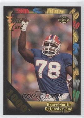 1992 Wild Card Super Bowl Card Show III - [Base] - 1000 Stripe #126 G - Bruce Smith