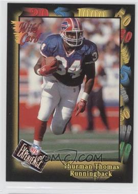 1992 Wild Card Super Bowl Card Show III - [Base] #126 F - Thurman Thomas