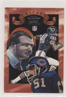 Dick Butkus, Mike Ditka, Gale Sayers