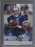 Daryl Johnston [JSA Certified COA Sticker]